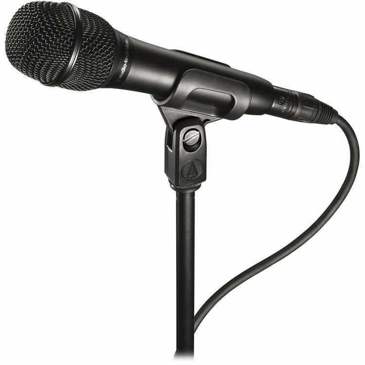 Audio-Technica AT2010 Cardioid Condenser Handheld Microphoe US Authorized Dealer