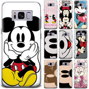 quality design 15e07 34ff0 Details about Disney Minnie Mickey Mouse Cartoon Patterned Phone Case Cover  For Samsung Google