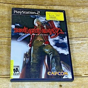Playstation-2-PS2-Devil-May-Cry-3-Dante-039-s-Awakening-Complete-and-Tested