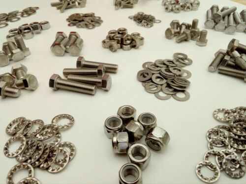 Nuts /& Washer FORD CAPRI Pack 1500pc Stainless UNF Hex Bolts
