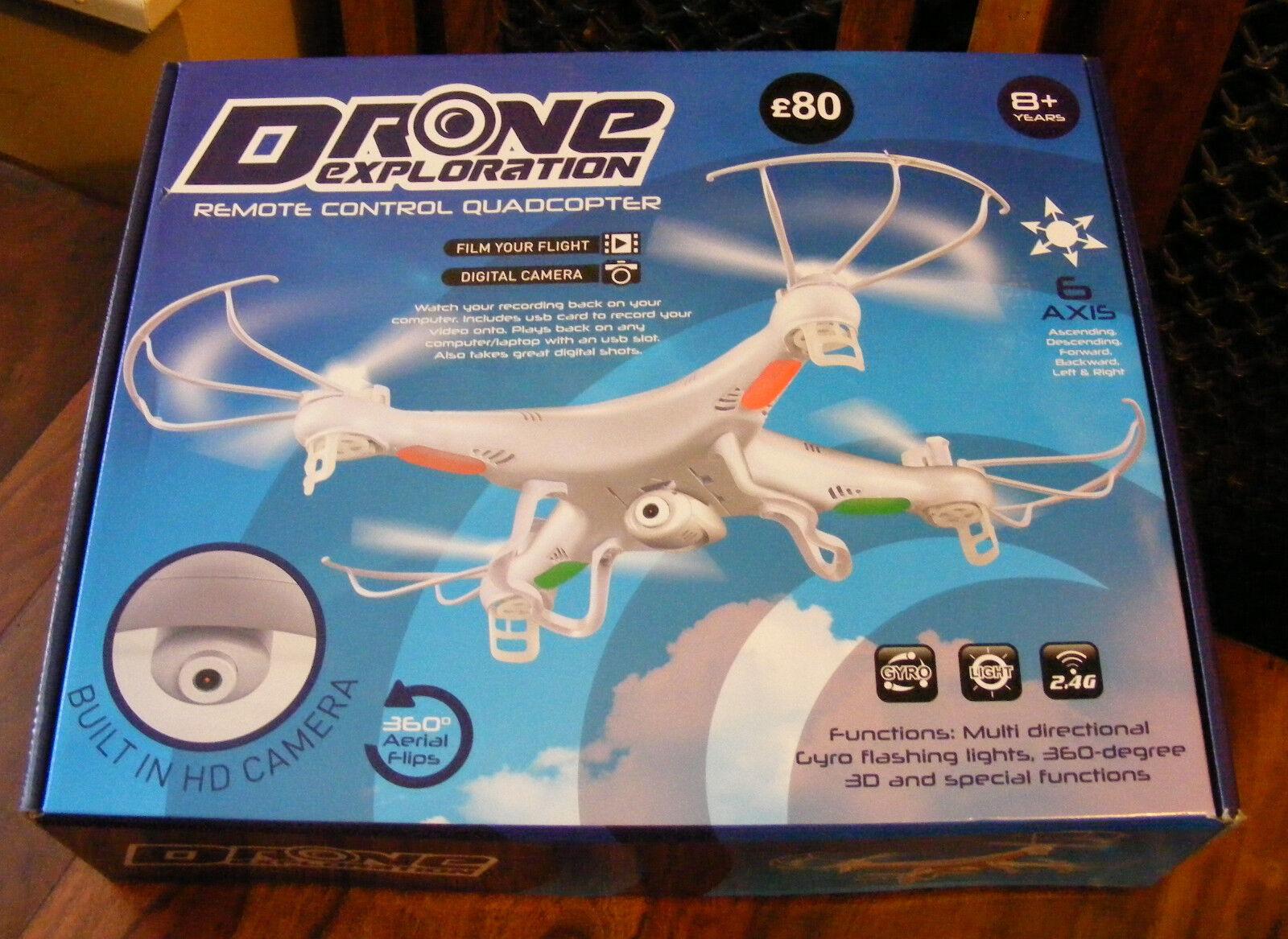 NUOVA esplorazione DRONE Syma CX5 2.4G Telecomando Quadcopter con TELECAMERA HD