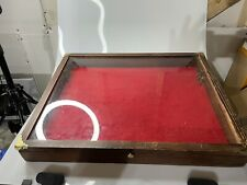 24 Inch Portable Wood Countertop Display Case 24w X 24l X 3d