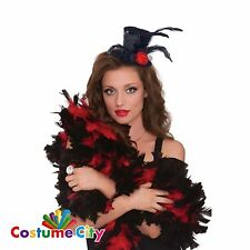 Adulti MINI NERO CLIP PER CAPPELLO Costume Halloween Costume Accessorio