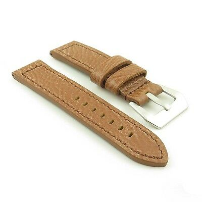 DASSARI Baron Textured Grain Italian Leather Watch Strap Band fits PANERAI