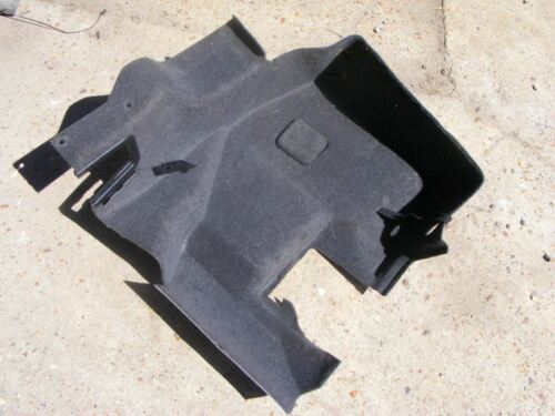 Grey Mercedes 1296907530 Interior Carpet Boot Lining Left D BlackR129 SL
