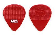 U2 Red Herdim Molded Guitar Pick - 2011 360 Tour Bono Edge