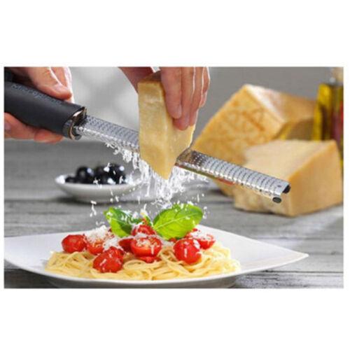 Edelstahl Hand Käse Reibe Slicer Muskat Zester Zitrone Küche Werkzeug Gut UE