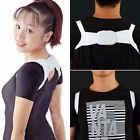Adjustable Therapy Back Support Brace Belt Band Posture Shoulder Corrector GP