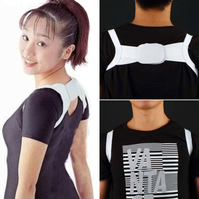 Posture Corrector Body Back Support Shoulder Brace Band Belt Correction  FE
