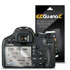 3X EZguardz LCD Screen Protector Skin HD 3X For Canon T1i / 500D (Ultra Clear)