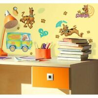 Wall Sticker 26 Pc Scooby Doo Friends Van Children Room Decor