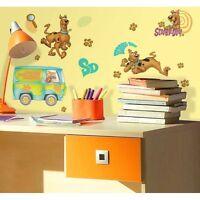 Wall Sticker 26 Pc Scooby Doo Friends Van Children Room Decor