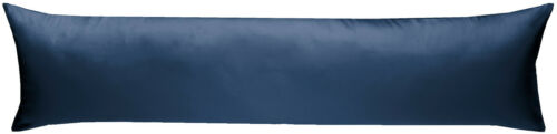 Mako-Satin pages agent dormant Taie d/'Oreiller Uni unicolore 40 x 145 cm 100/% coton