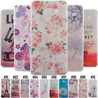 For Samsung Patterned Gel Soft TPU Silicone Back Phone Rubber Case Cover Skin