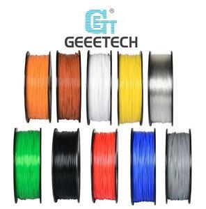 Geeetech PLA ABS PETG Wood Filament Silk PLA 1.75mm 1kg pour Imprimante 3D
