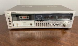 Onkyo-TA-2050-Cassette-Deck-Direct-Drive-Capstan-Needs-Repair