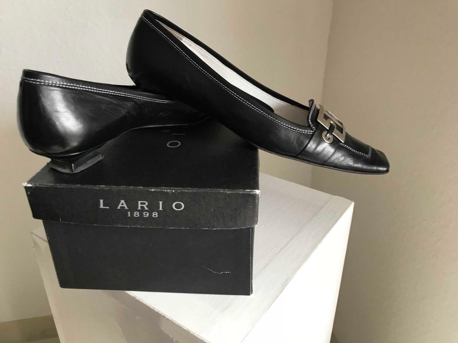 Lario 1898 Emporio DAMEN SCHUHE ballerina  schwarz 38,5 Größe