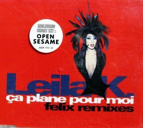 1 von 1 - Leila K. Ça plane pour moi-Felix Remixes (1993) [Maxi-CD]