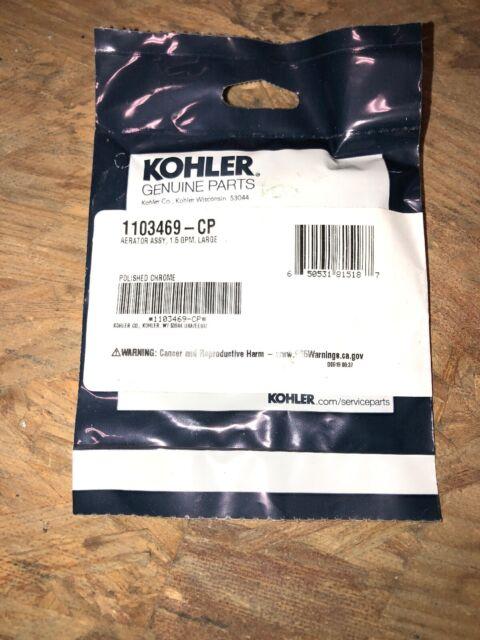 Kohler 1103469-CP Aerator Assembly