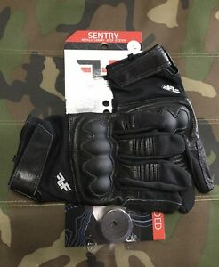 Line-of-Fire-Sentry-Black-Gloves-L-With-36-Tegs-Tape-Included
