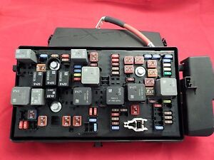 fuse box in honda civic 2007 gm fuse block box complet w/relay, fuses, battery cable ... fuse box in chevy malibu