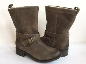 0c52001e940 Details about UGG GLENDALE DOVE WATERPROOF LEATHER BOOTS US 7 / EU 38 / UK  5 -NEW