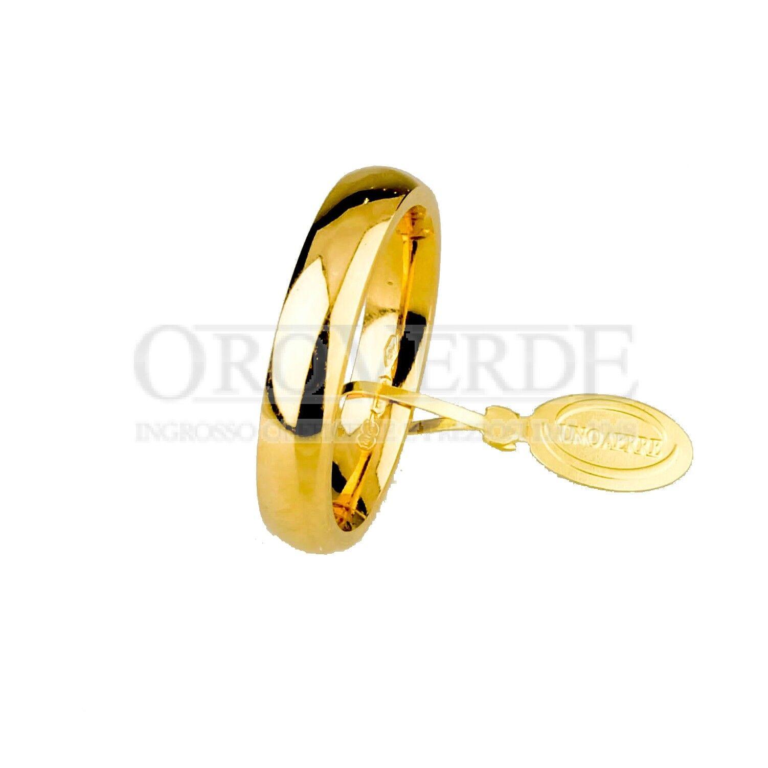 verde Gioielli fede comoda oro 750% Unoaerre larg. larg. larg. 3 5mm 35AFC1G8- 257 00 a273a3