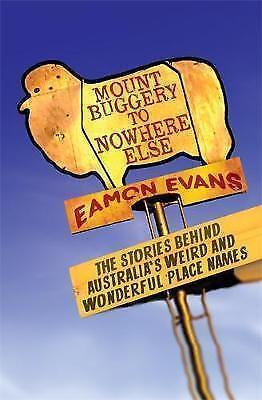 1 of 1 - Mount Buggery to Nowhere Else...EAMON EVANS...LIKE NEW   LNF786