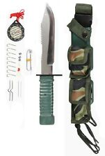Rothco Special Forces Camping Hunting Tactical Survival Kit Knife  3237  #1