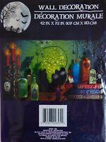 Halloween Spooky Decorative Plastic Wall Mural Halloween Spells (free Shipping)