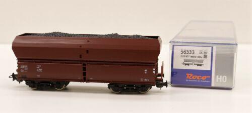 56333 Roco HO carro merci scarico automatico con carico carbone DR scala 1:87