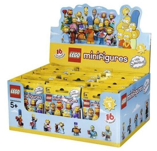 Lego 71009 Mininfigure The Simpsons Series 2, Sealed Box(60 Minifigures) Minifigures) Minifigures) NEW 43993f