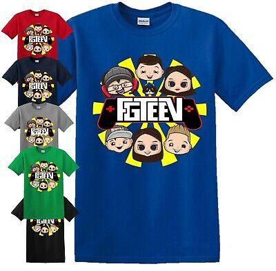 PERSONALISED Gurkey Funnel Vision Mens Kids T-Shirt FGTeeV Gaming Team Gift Tee
