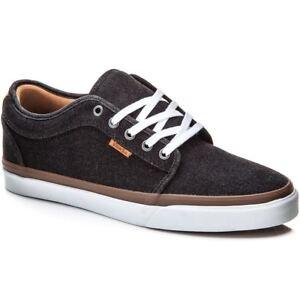 Vans Chukka Low Men Shoes Denim Black/White