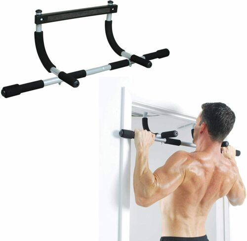 Unisex Pull Up Bar Full Upper Body Workout Chin Up Home Gym Exercise Steel Bar