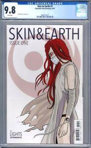 Skin & Earth #1  Dynamite Comics (2017)  Lights Story   1st Print CGC 9.8