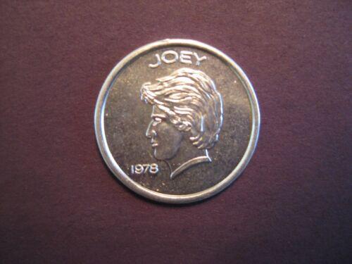 1978 Hartford Jai-Alai player coin *JOEY* token Miami Dania cesta pelota casinoツ�