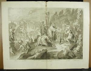 Engraving-18th-1728-Israel-Cult-Of-Idols-Apis-Anubis-Moloch-Priapus-Egypt-Dieu