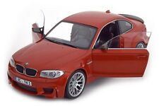 Minichamps 2011 BMW Serie 1 M Coupe Orange Color 1/18 Scale LE of 504 New!