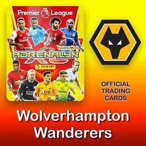 Panini-ADRENALYN-XL-2019-2020-Wolverhampton-Lobos-tarjetas-Premier-League-nuevo
