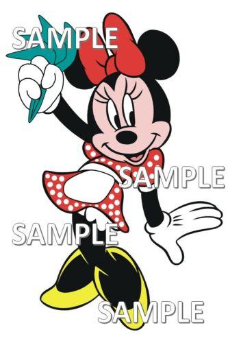 Disney World Chef Mickey/'s Restaurant Minnie Twirling Napkin Scrapbook Piece
