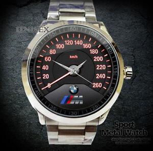 New Hot Bmw M3 Logo Speedometer Sport Metal Watch Ebay