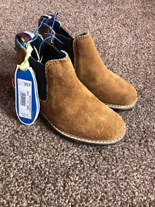 Boys Ted Baker Navy Blue Casual Boots