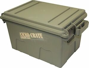 Image Is Loading Ammo Crate Utility Box Shotgun Ammunition Waterproof  Storage