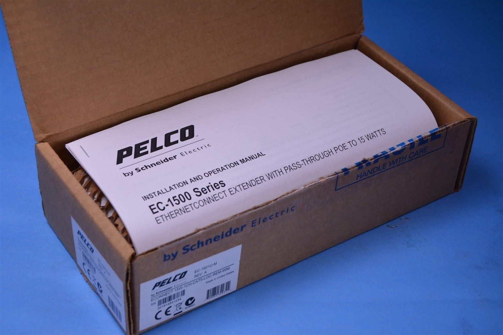 Pelco eConnect EC-1501U-M 1 puertos Ethernet sobre UTP extender local o remota