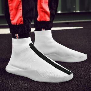 haut de air Nouveaux course chaussures taille chic baskets en sport hommes casual haut chaussette plein grande qwC1C8E
