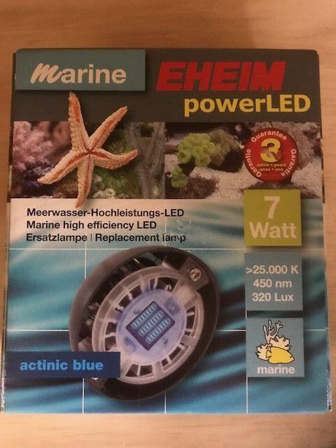 EHEIM POWER LED LIGHT KIT ATINIC blueE BULB MODEL