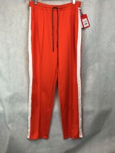 c6a297a8400 Hunter for Target Women s Tapered Side Snap Track Pants Orange