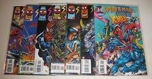 Spider-Man-Team-Up-1-7-Marvel-Comics-1995-1996
