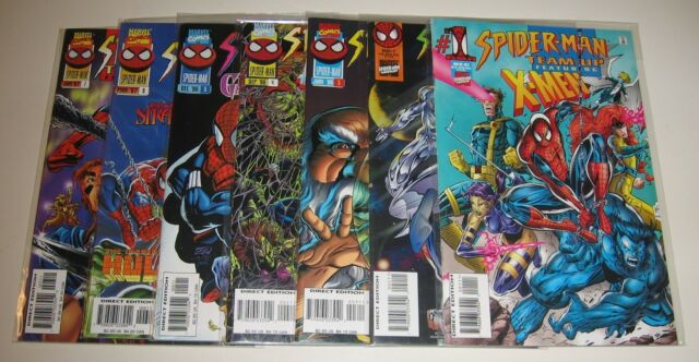Spider-Man Team-Up #1-7 [Marvel Comics, 1995-1996]